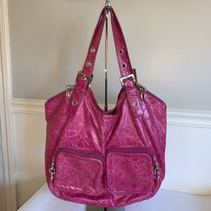 TED BAKER Leather Chunky Chain Tote Shopper